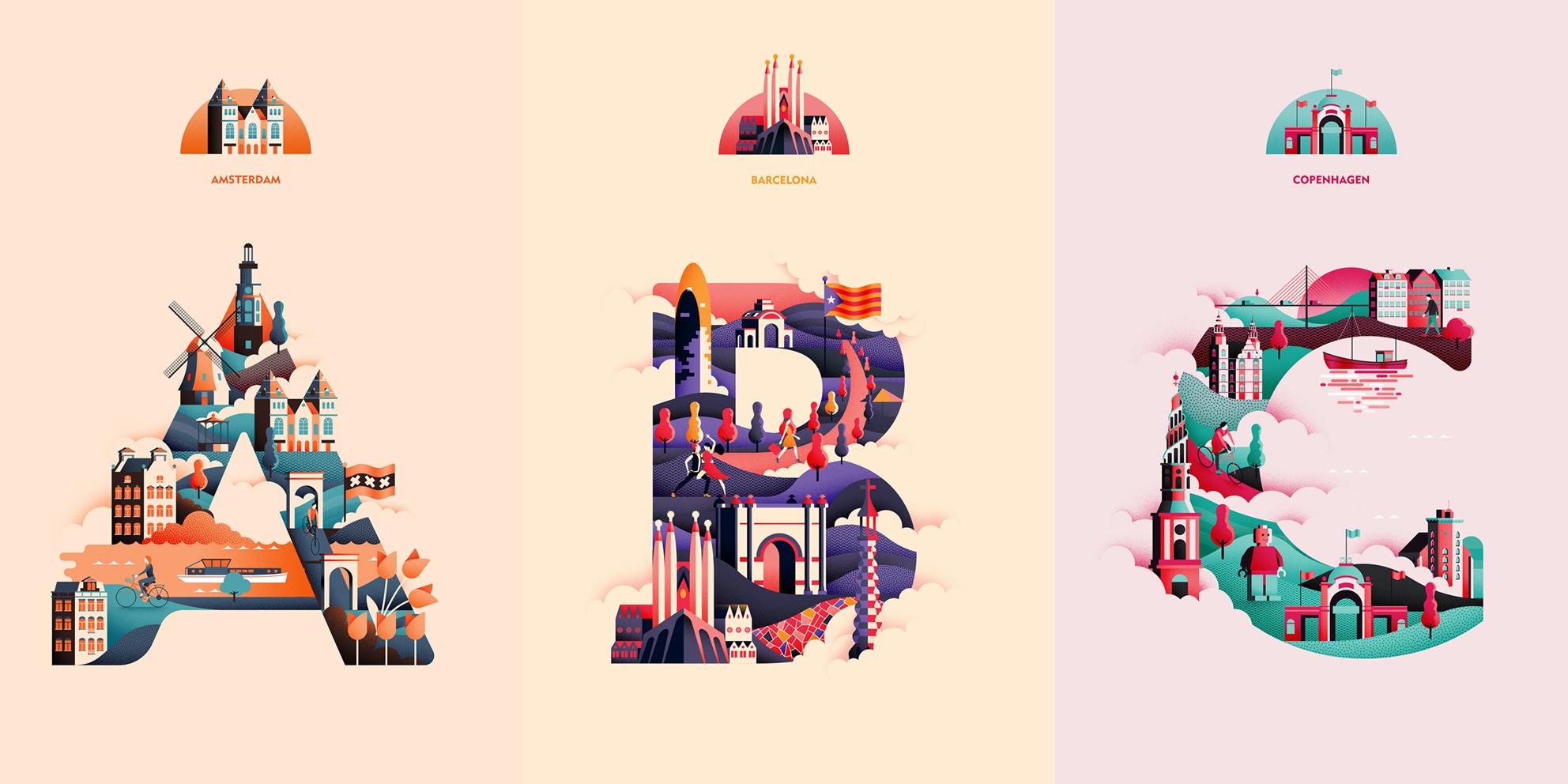 El abecedario de viajes ilustrado de Jack Daly