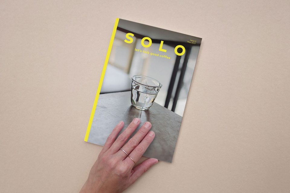 Publications for Pleasure presenta Solo 2, let's talk about coffee