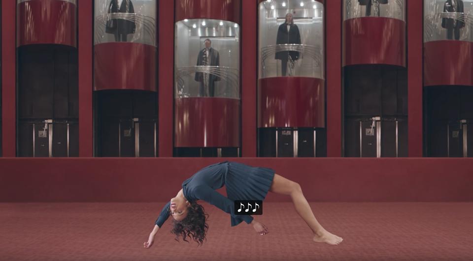 Disfrutar visualmente de los 'Secrets' de The Weeknd