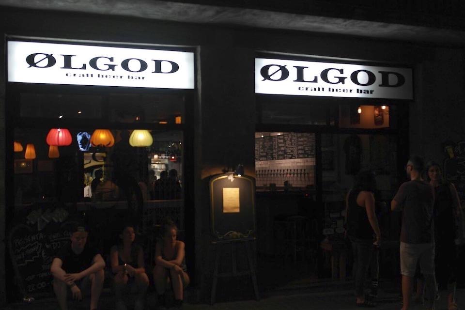 El paraíso de la cerveza artesana al cruzar las puertas del Ølgod