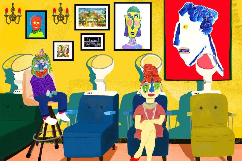 Helen Eunhwa Oh y sus ilustraciones bizarras del día a día