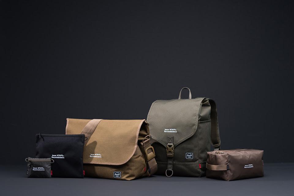 La exclusiva e inédita colección de WTAPS® para Herschel Supply