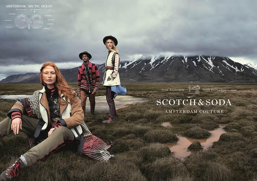 Scotch & Soda rinde tributo al espíritu nómada