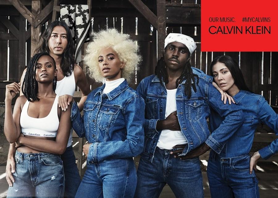 Solange, Kindness y Kelela protagonizan #MyCalvins Our Family