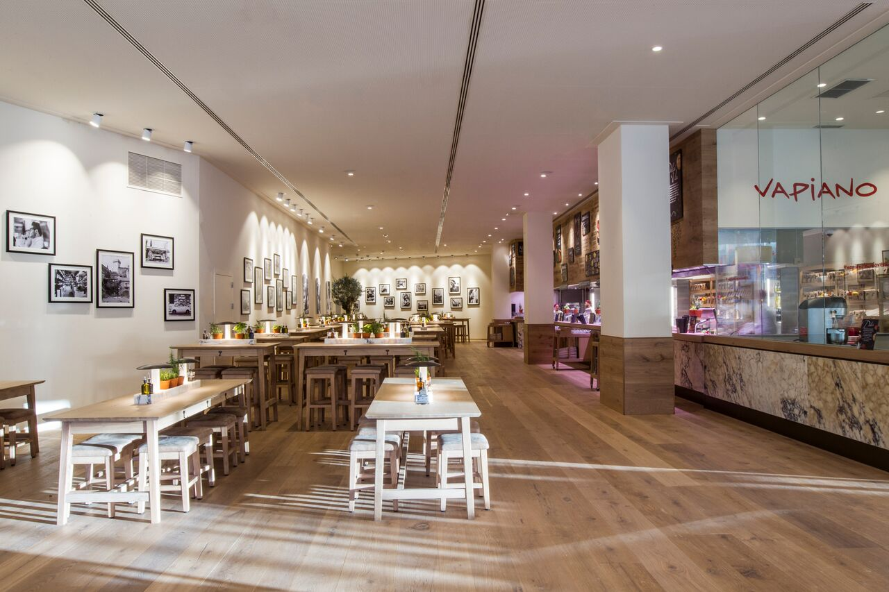 Vapiano, fresh casual food de primera