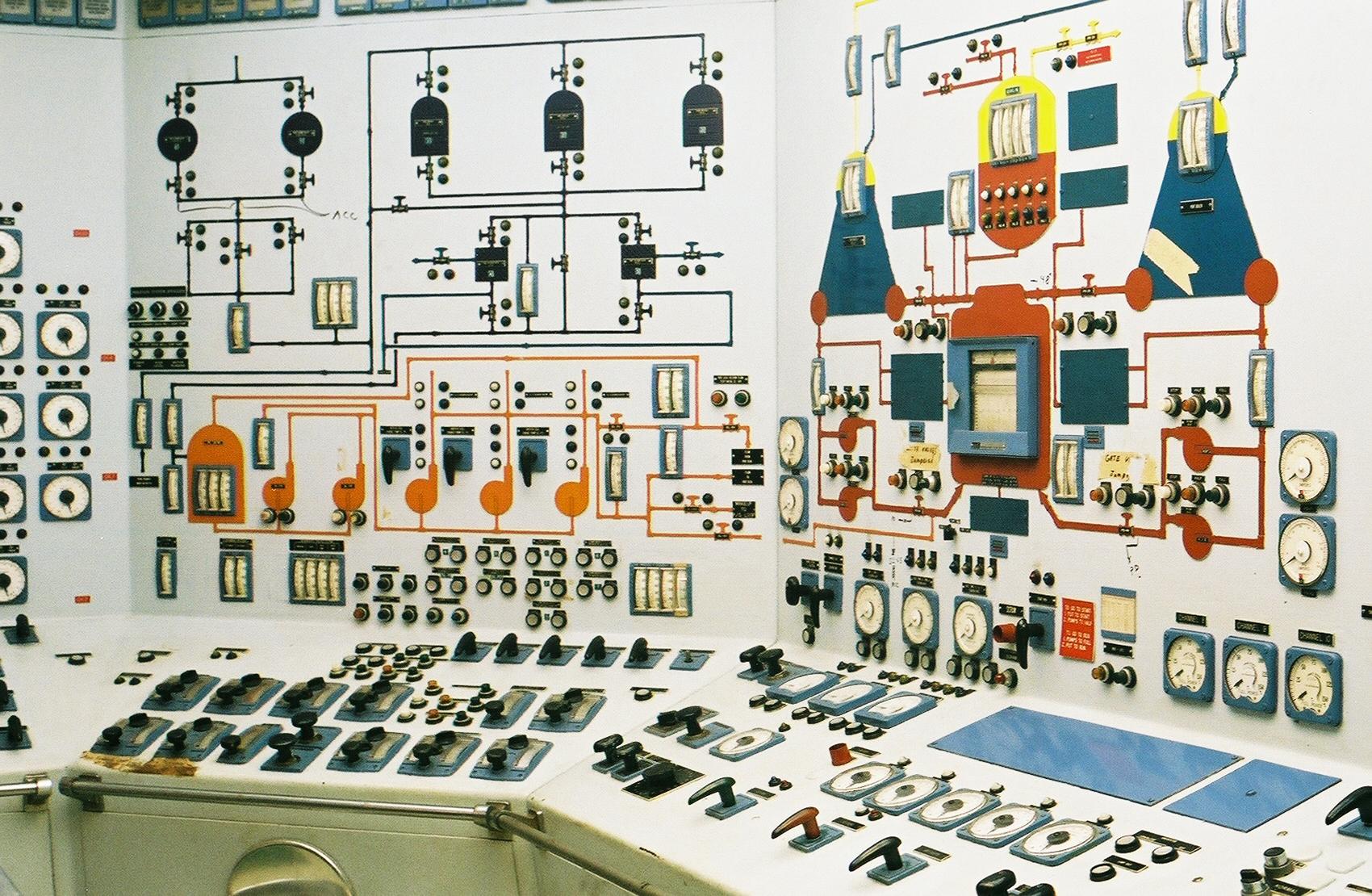 ¿Puede haber algo más bello que estas salas de control soviéticas?