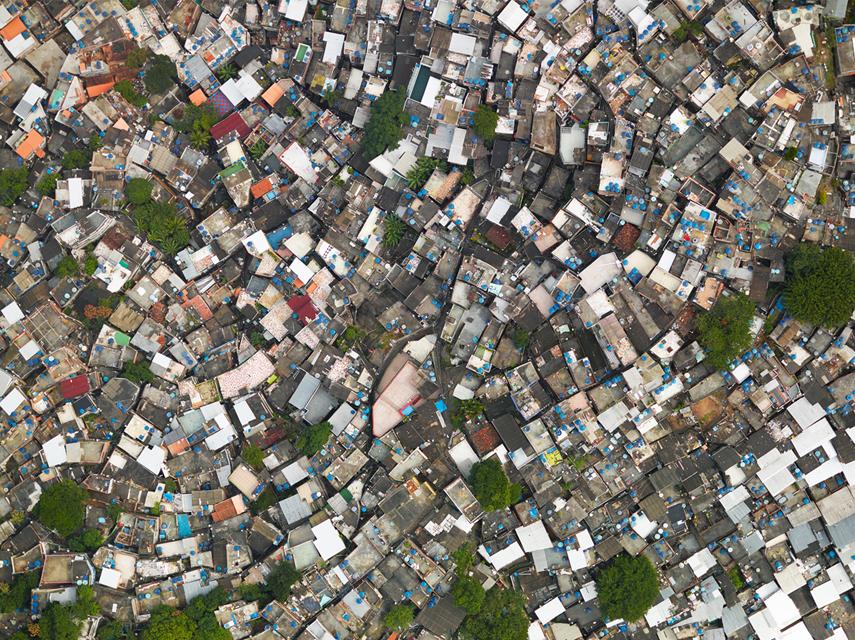 Giles Price en lo más alto de Rio e Janeiro
