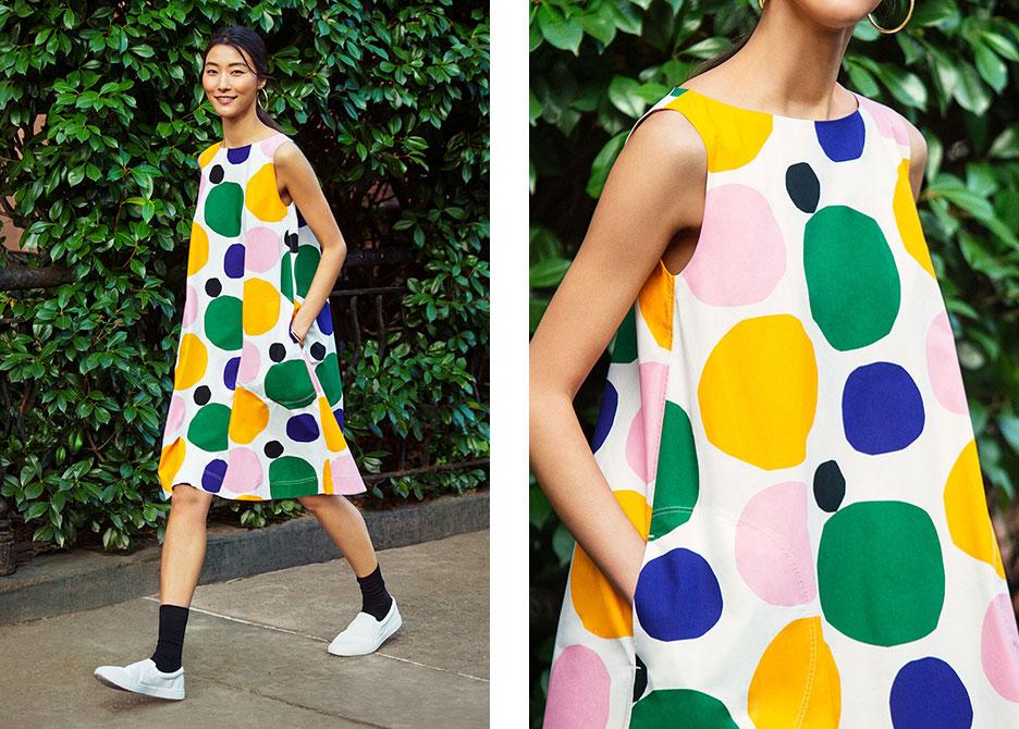 La psicodelia, la alegría y el color de Marimekko invade el mundo UNIQLO