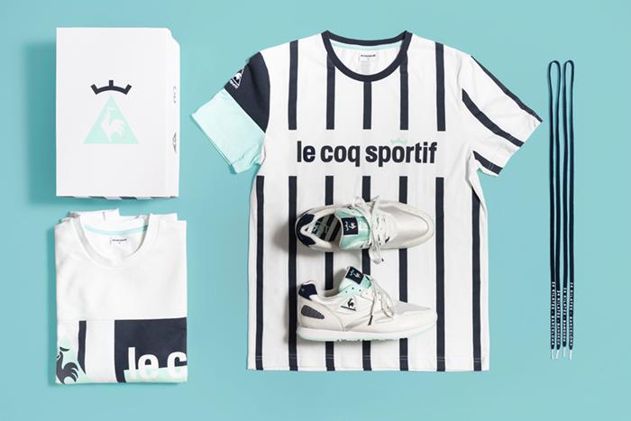 Así es la nueva colaboración entre le coq sportif y 24 Kilates Barcelona