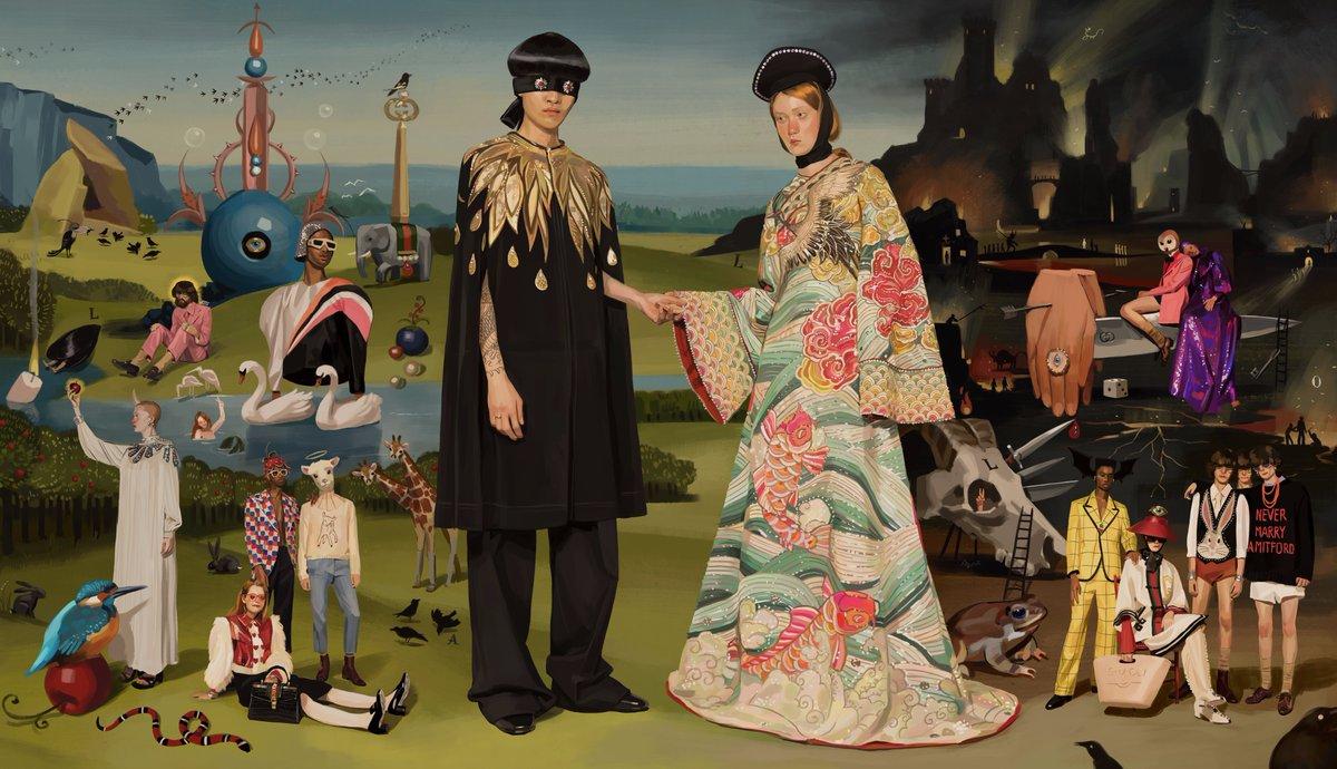 Alucinad con Gucci Hallucination, la colaboración de Gucci con Ignasi Monreal