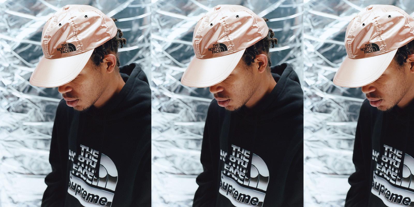 Un outfit galáctico de Supreme x The North Face
