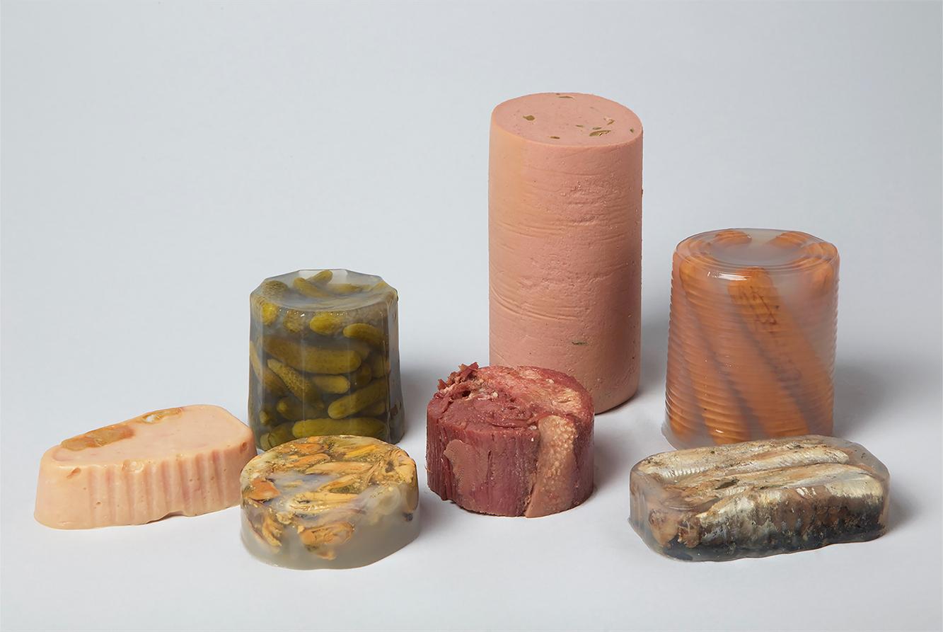 'Canned', las esculturas enlatadas de Kyoko Takemura
