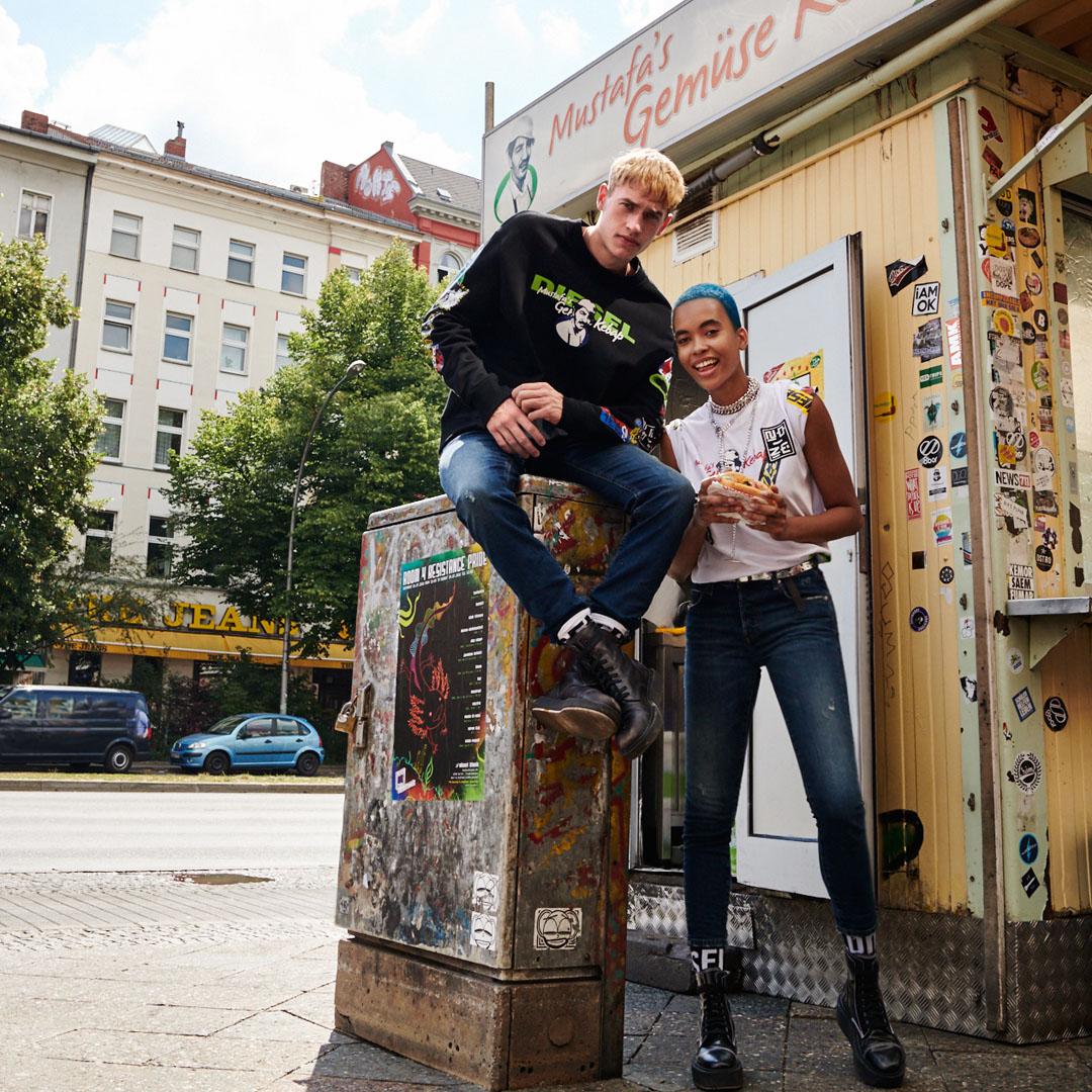 Diesel x Mustafa's Gemüse Kebap: la colaboración más inesperada