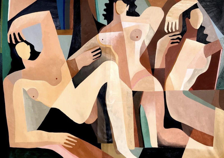 El nuevo cubismo por Jessalyn Brooks