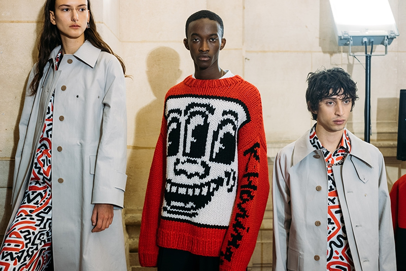 Études homenajea a Keith Haring y a la estética 'gabber' en la Paris Fashion Week