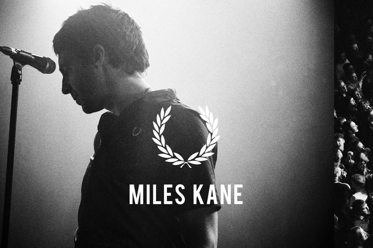 Miles Kane une fuerzas con Fred Perry por tercera vez