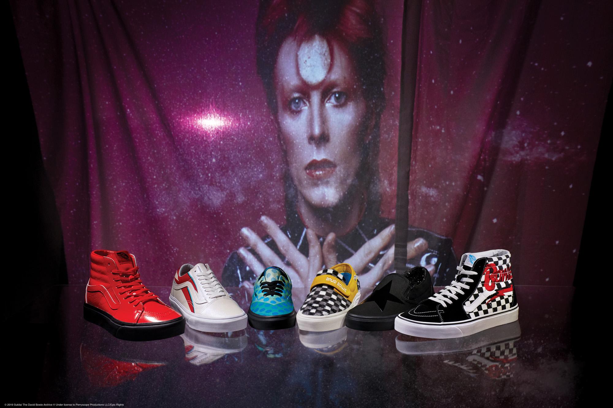 VANS homenajea el legado de David Bowie con su nueva colección