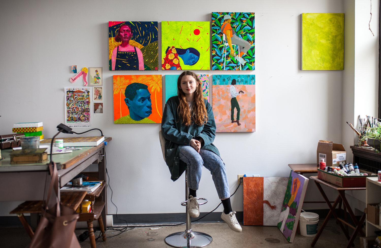 El colorido atrevimiento de Sheila Nicolin