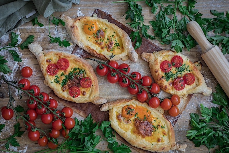El «Khachapuri», el plato georgiano más Instagram-friendly del mundo