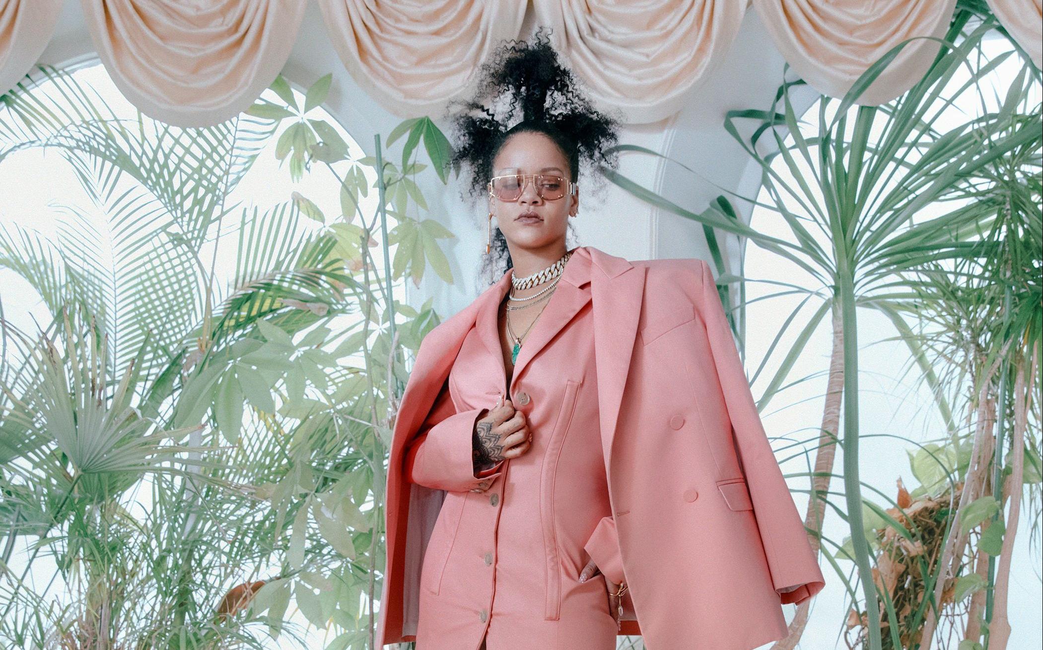 Fenty, la nueva marca de Rihanna para LVMH, está al caer