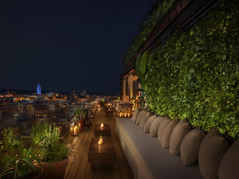The Roof, vendrás por las vistas y te quedarás por la comida
