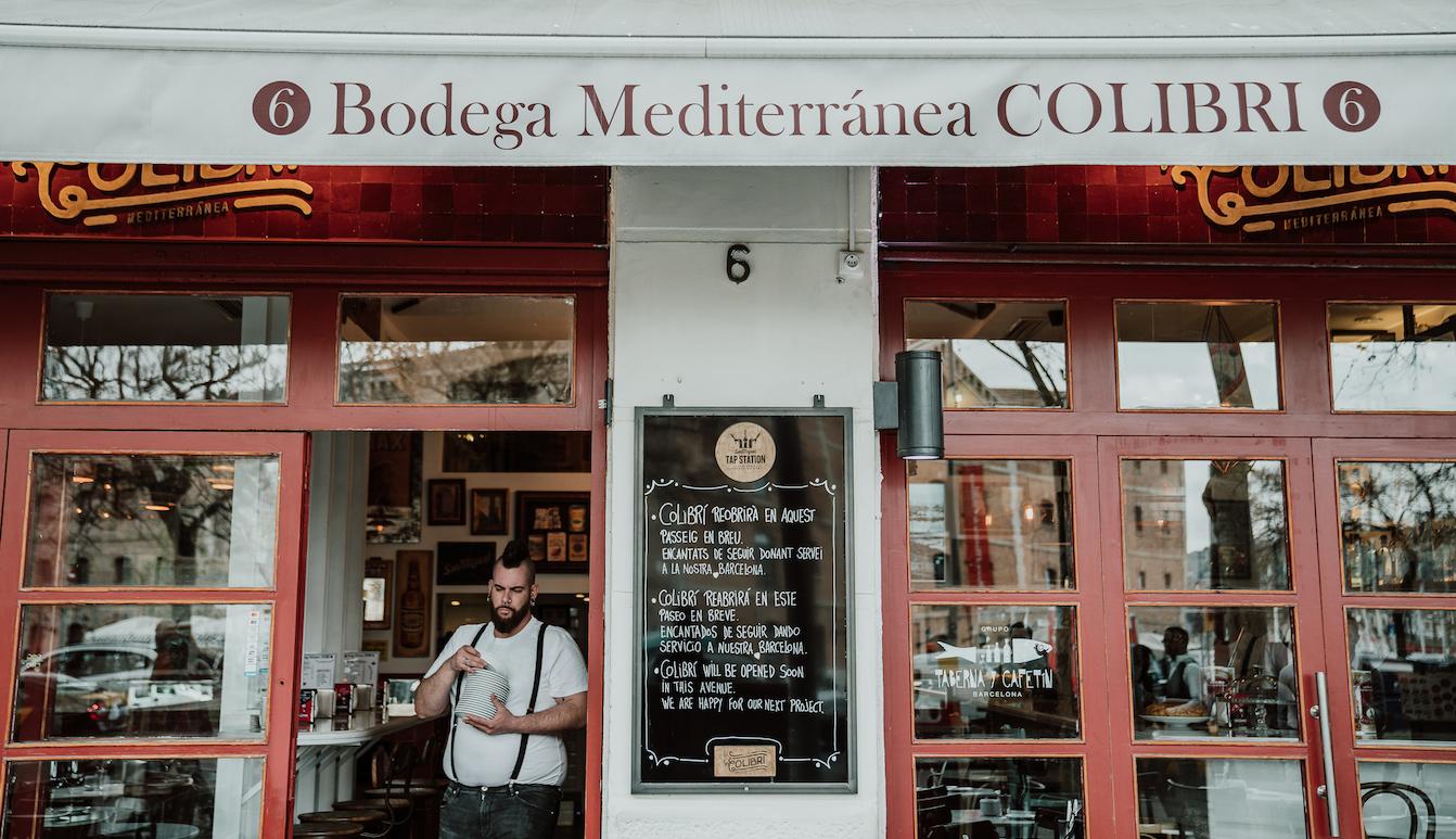 El Colibrí patrimonializa lo auténtico y regala un clásico a la Barceloneta