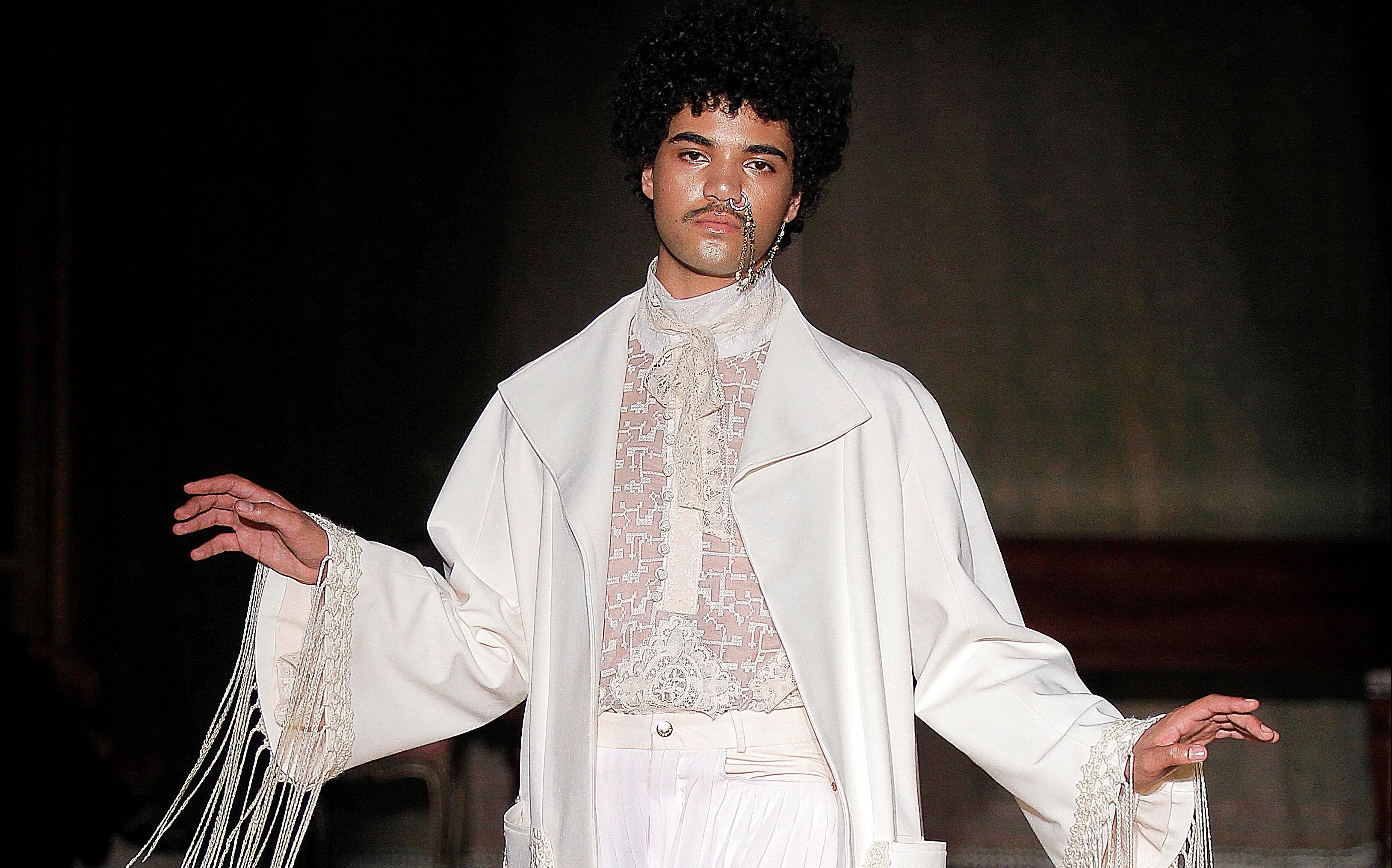 Palomo Spain presenta 'POMPEII' en la Paris Fashion Week Men's 2019