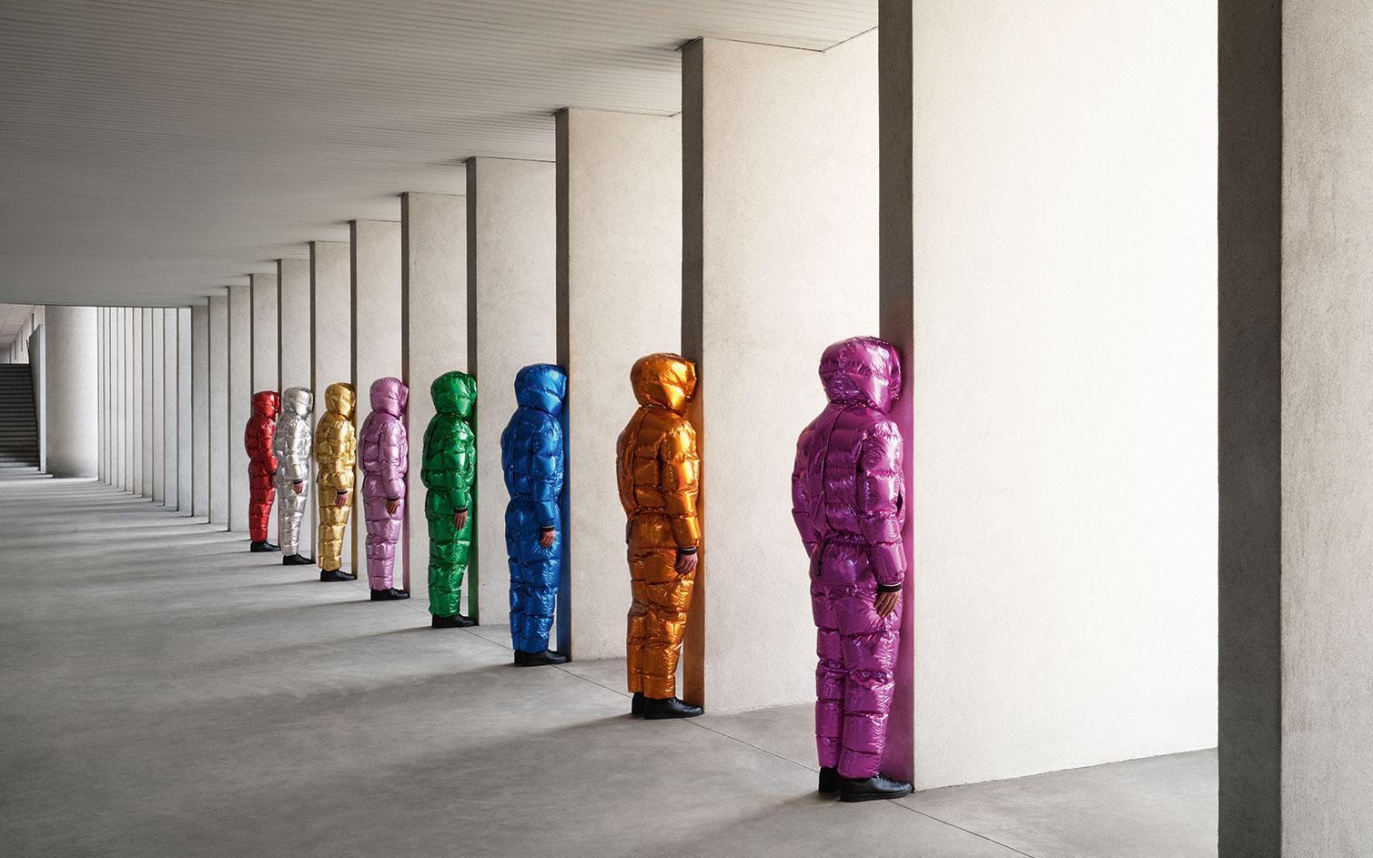 Jeff Koons, la inspiración detrás de la última colección de Moncler en colaboración con Palm Angels