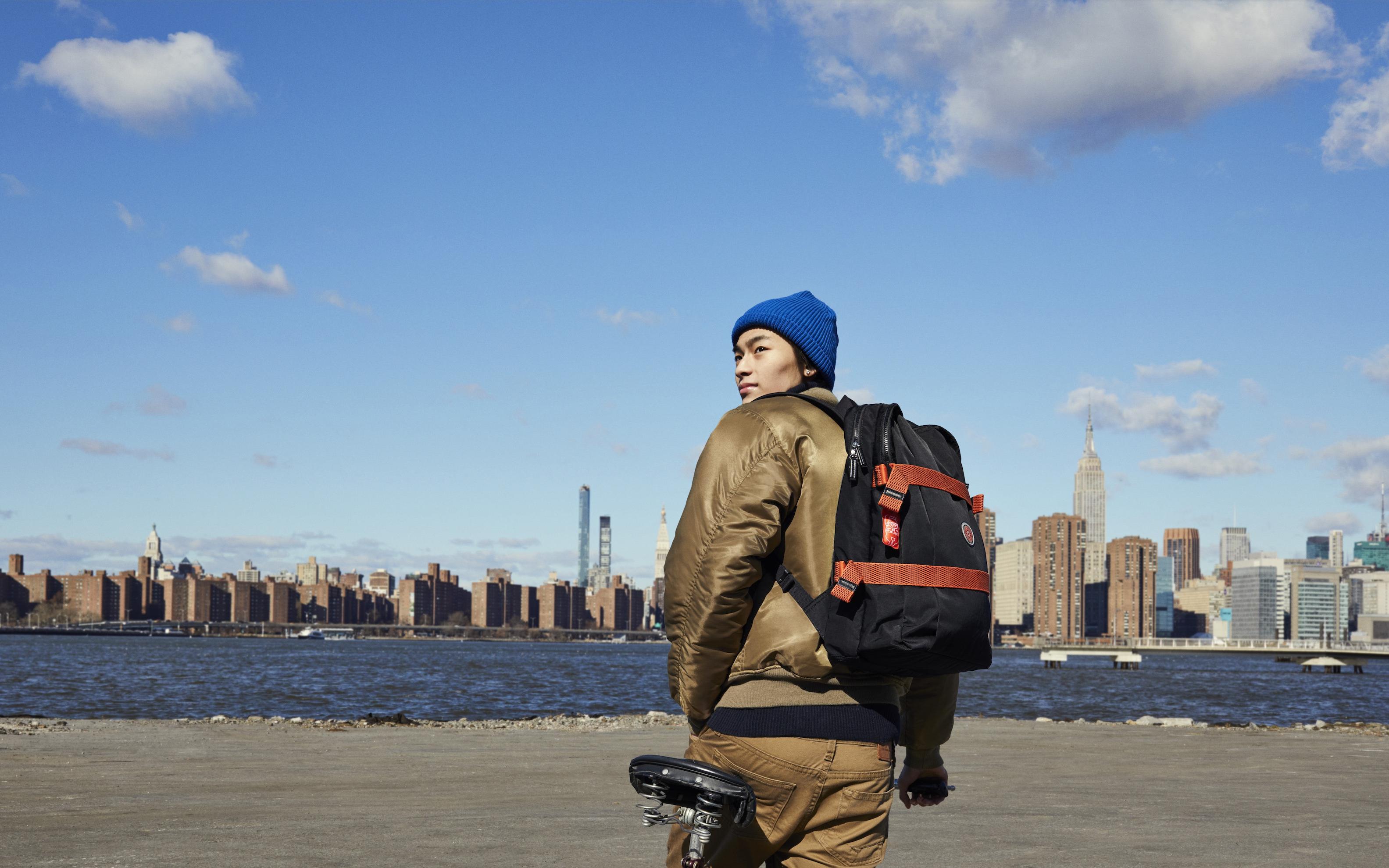 BOOST IT, la nueva colección de Kipling para descubridores urbanos