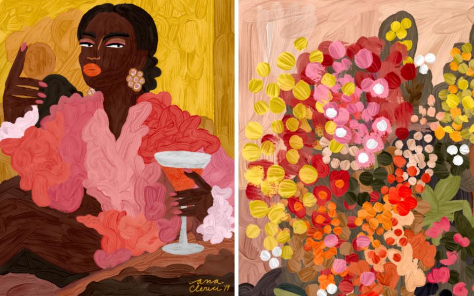 Remueve tu Creatividad con Bombay Sapphire: Ana Clerici, una oda a la feminidad
