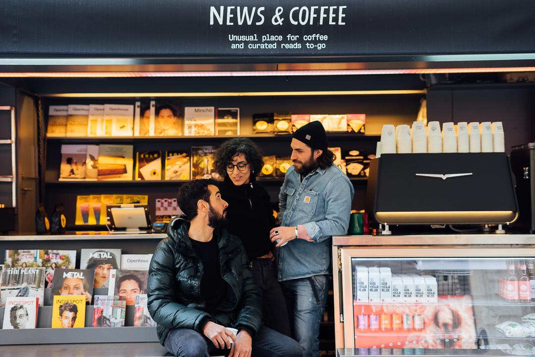 News and Coffee, la renovación de los quioscos barceloneses