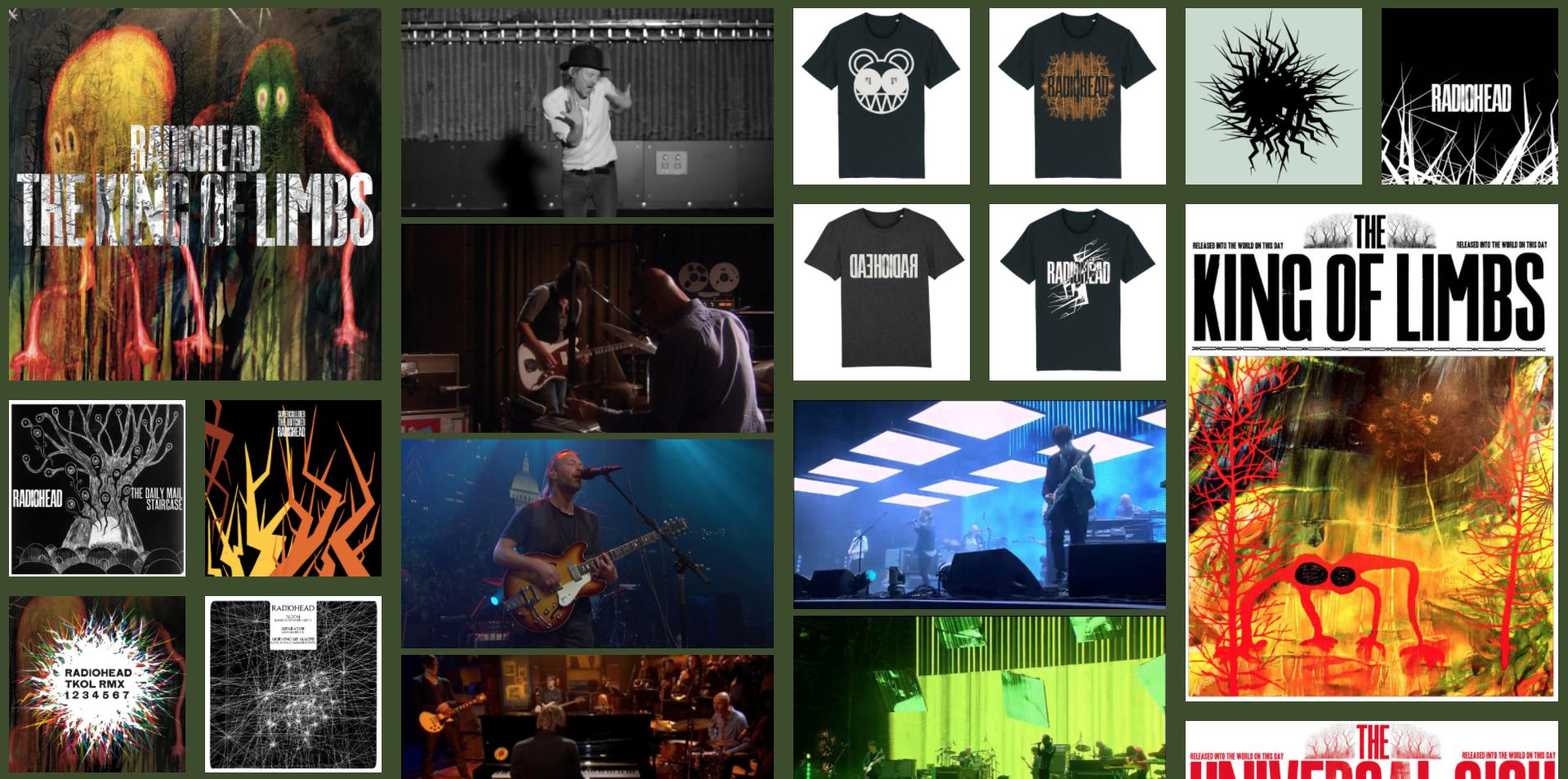 Radiohead hace pública su historia a través de una biblioteca online