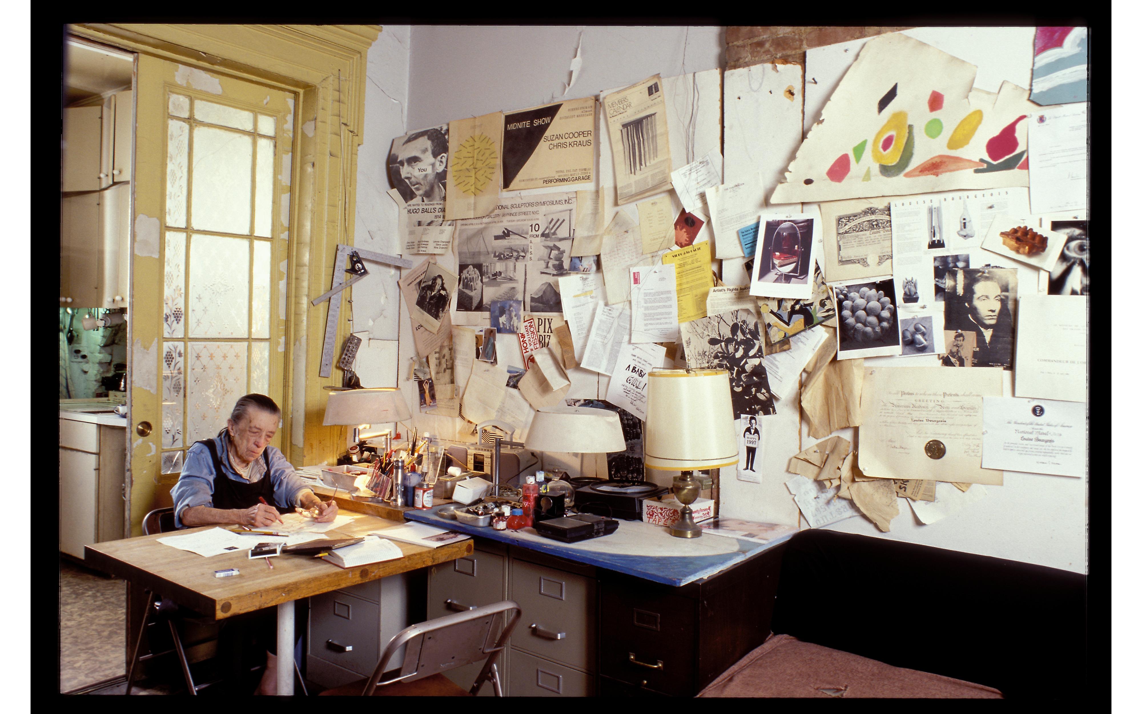 Así es la nueva exposición online que nos descubre los dibujos de Louise Bourgeois