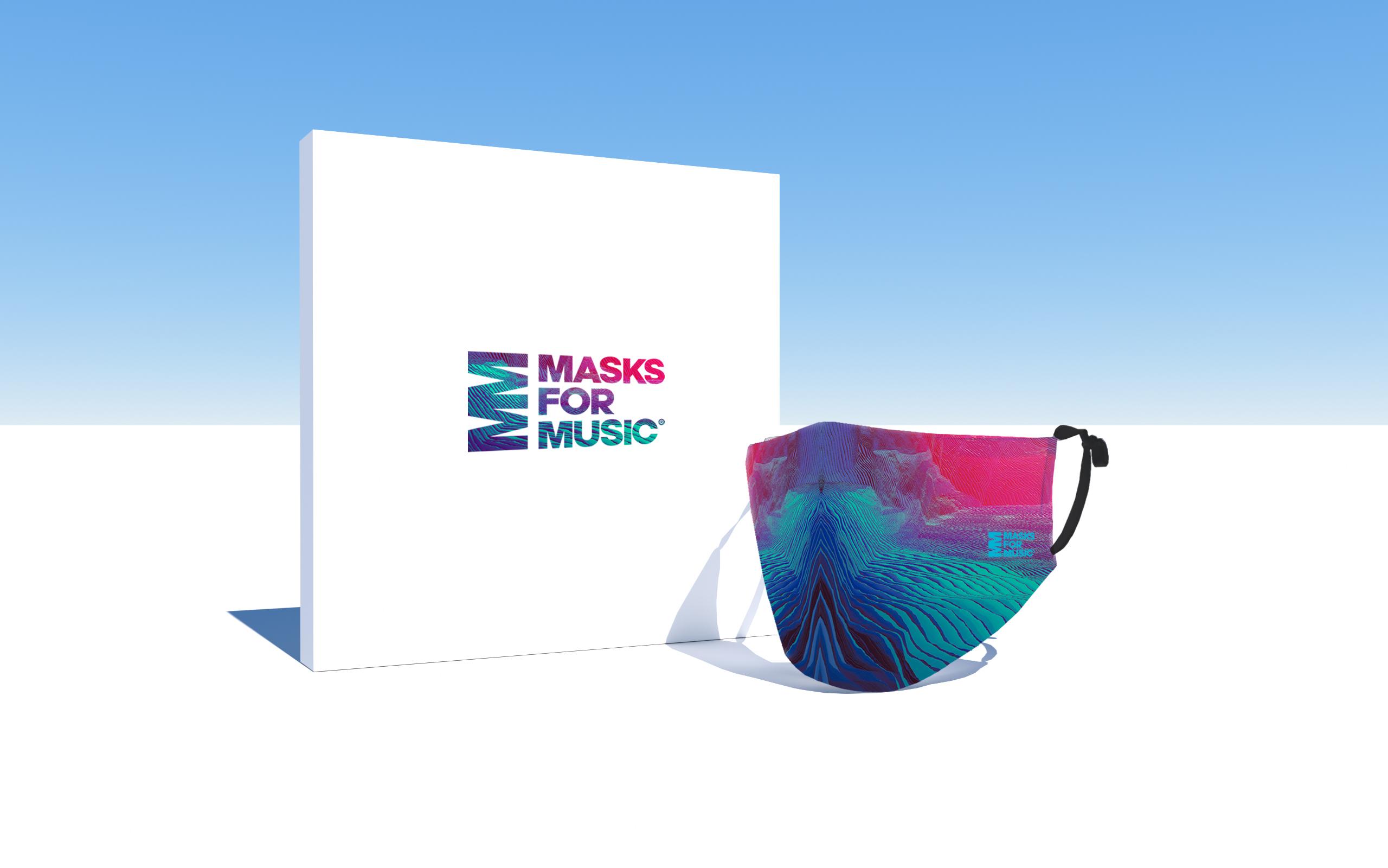 Nace Masks For Music, una iniciativa internacional para apoyar a la industria musical