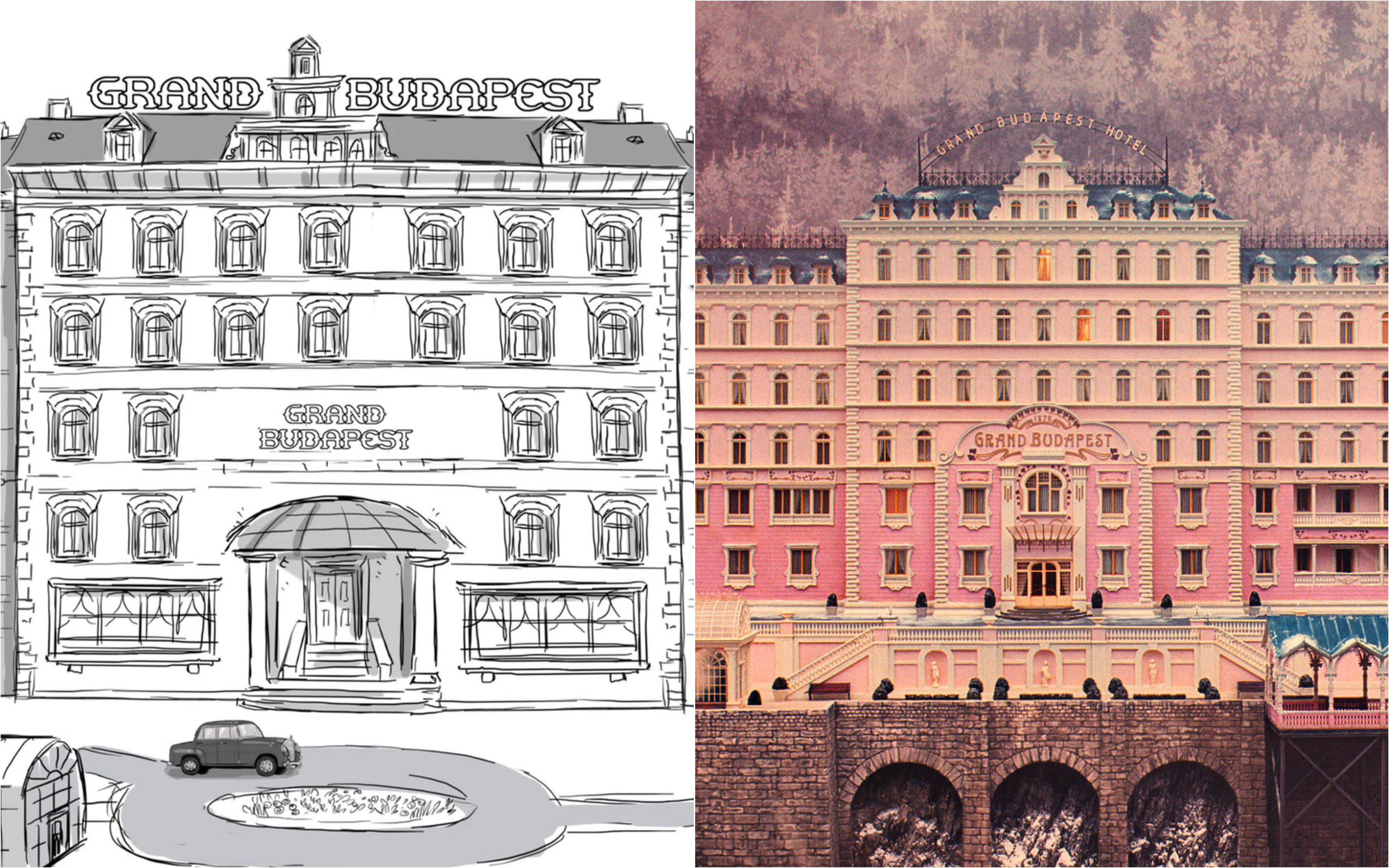 Wes Anderson narra el storyboard original de su película más aclamada, 'El Gran Hotel Budapest'