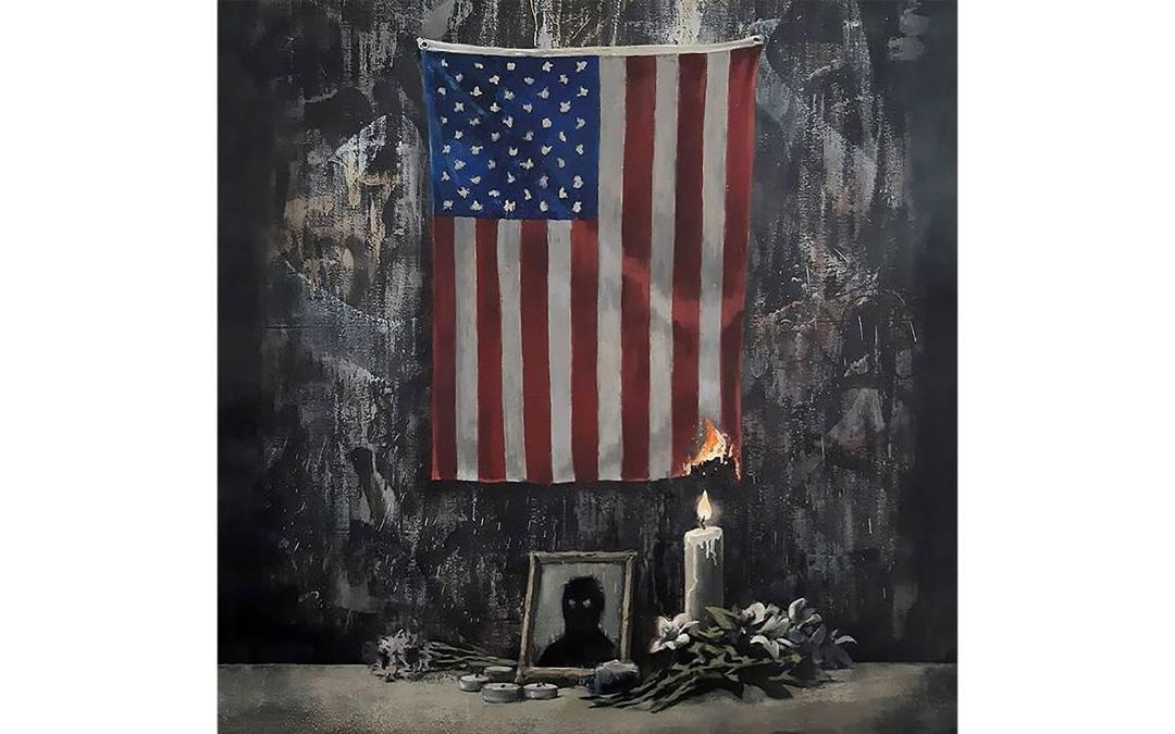 La nueva obra de Banksy homenajea al movimiento Black Lives Matter